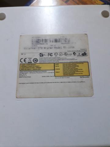 Dvd externo, usado poucas vezes - Foto 3