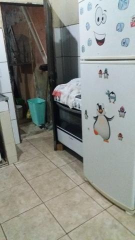 Qnp 10 2 quartos sala cozinha wc mais casa de fundo 110mil - Foto 3