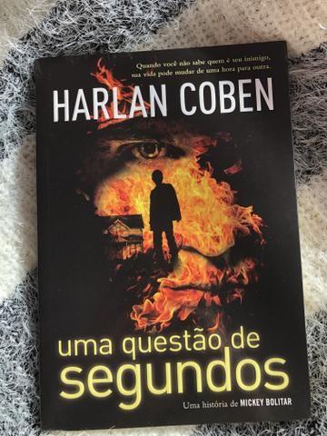 Livro: Uma questão de segundos - Harlan Coben