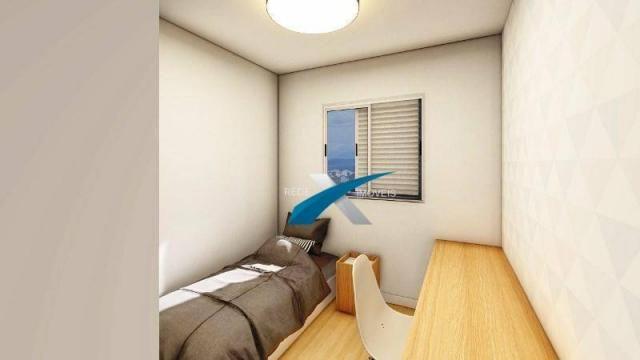 Apartamento com 3 dormitórios à venda, 80 m² por r$ 369.999 - havaí - belo horizonte/mg