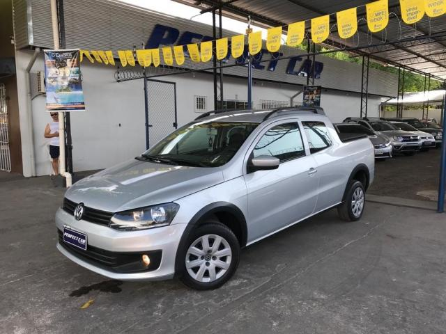 VOLKSWAGEN SAVEIRO 2014/2015 1.6 MI TRENDLINE CD 8V FLEX 2P MANUAL - Foto 15