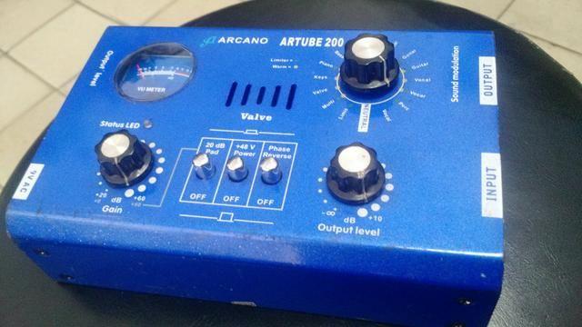 Pré amplificador valvulado para microfone - Foto 2