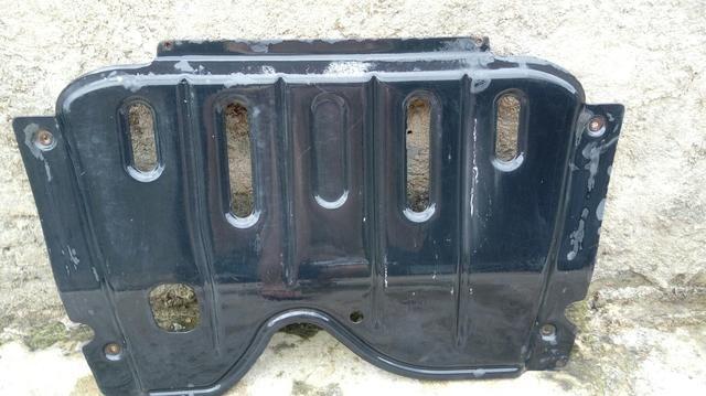Peito de aço (protetor do cárter) Sandero - Foto 2