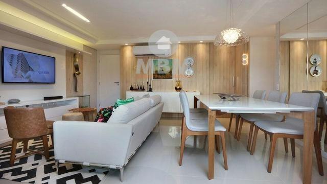 Vendo apartamento no Cocó com 123 m², 3 suítes e 3 vagas na garagem