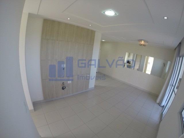 MR- Excelente apartamento na Praia da Baleia, 2Q com suíte e Varanda Gourmet - Foto 2