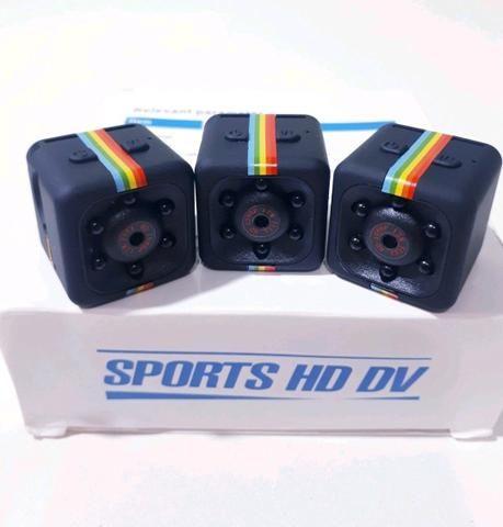 Mini Câmera Filma em HD Portátil Cabe no Seu Bolso Leve Pra Qualquer Lugar - Foto 2