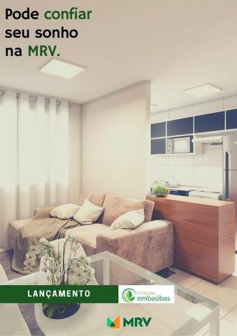 Lançamento MRV Embaubas Planalto 41m² 1Qto 1 vaga R$ 184.300,00 - Foto 4