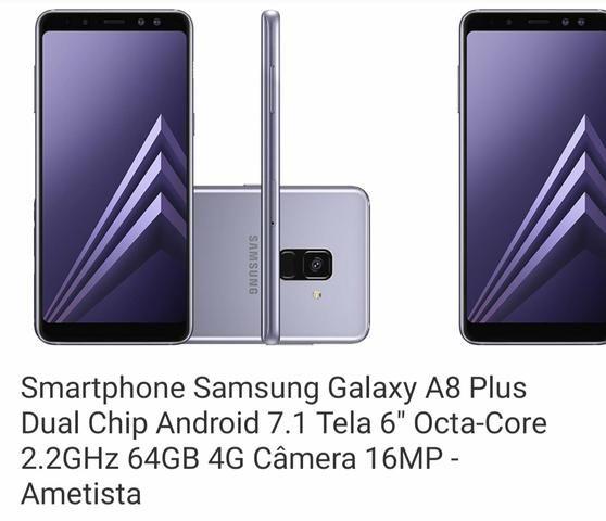 Celular Samsung Galaxy a8 dual chip. Conservadissimo. Nem 1 ano de uso - Foto 3
