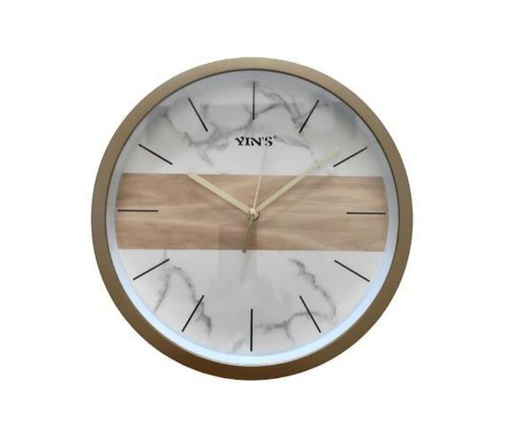 Relógio de Parede Dourado