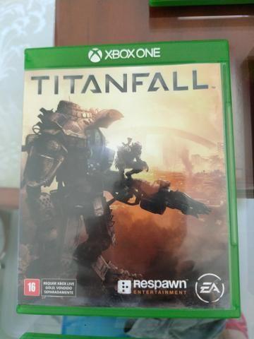 Vendo jogo ORIGINAl Titanfall- para Xbox One