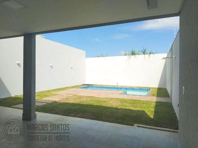 Linda casa nova moderna de alto padrão em rua 06 Vicente Pires - Foto 18