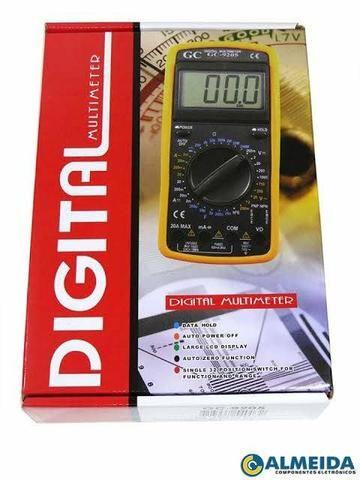 Multímetro digital com capacímetro (aceito cartão) - Foto 3