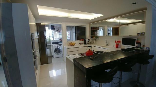 Apartamento bem mobiliado de 3 dormitórios no Centro de Florianópolis - SC - Foto 17
