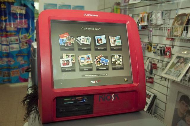 Kiosk de reveleção digital Mitsubishi - Foto 2