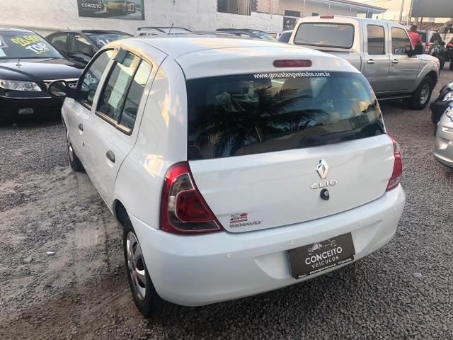 Renault Clio 2014 1.0 4 Portas Completo - Foto 4