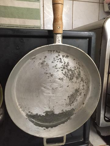 Frigideira aço inox 40x40 cm