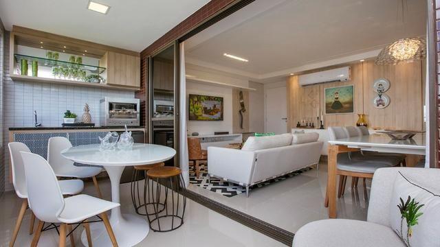Vendo apartamento no Cocó com 123 m², 3 suítes e 3 vagas na garagem - Foto 4