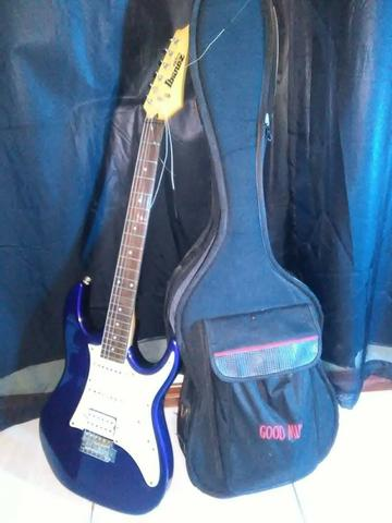 Guitarra Ibanez Gio Grx 40 Azul - Foto 4
