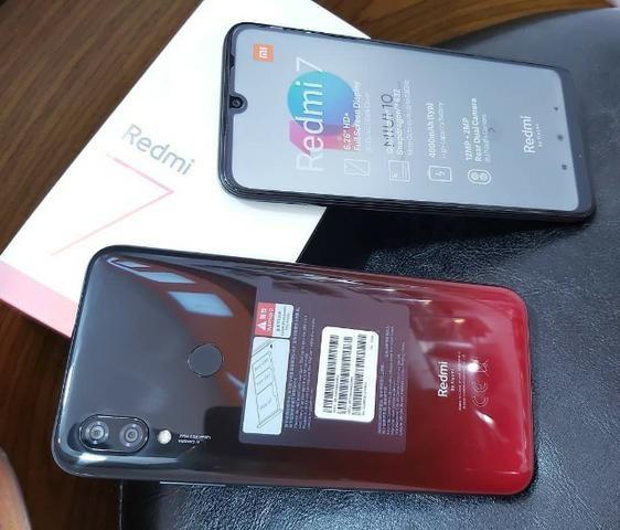 Xiaomi Redmi 7 64gb 3gb Rom Global/Novo Com Garantia 6 Meses/Azul - Foto 3