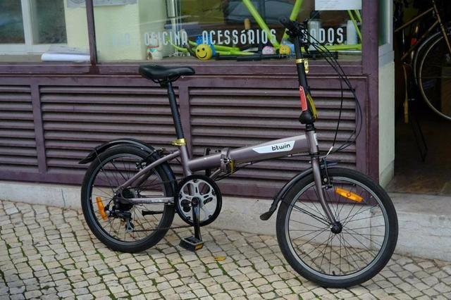 Bicicleta dobrável btwin hoptown 5