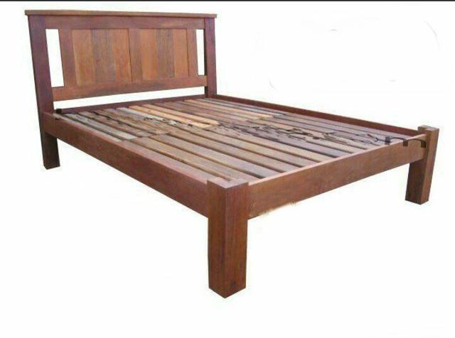 Cama em jatobá ( madeira de lei ) - Foto 2