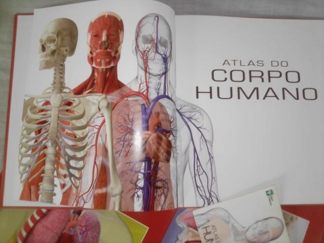 Atlas Do Corpo Humano - 4 Livros + Dvd Rom - Foto 3