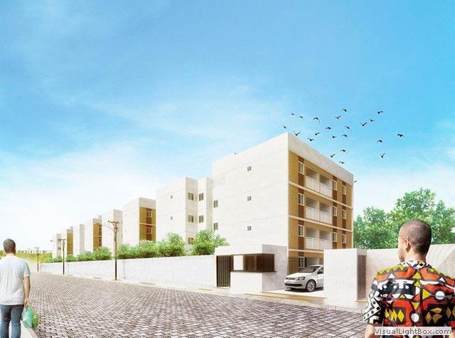 [JN] Apartamento de 2 quartos num condomínio completinho em Candeias