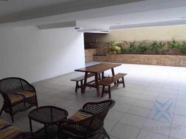 Apartamento com 3 dormitórios para locação ou venda, 150 m² por r$ 500.000 - meireles - fo - Foto 3