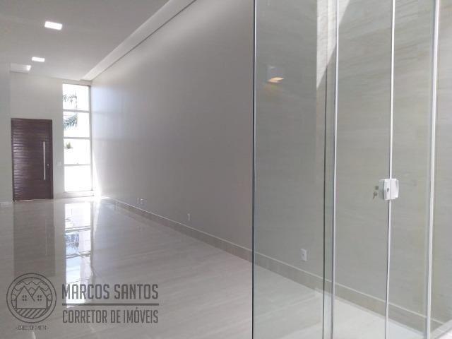 Linda casa nova moderna de alto padrão em rua 06 Vicente Pires - Foto 13