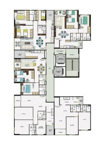 Dan. 81 99699.6401 \venda em Piedade: 55m² , 2 quartos e 1 suíte perto do Shopping e Mar - Foto 2