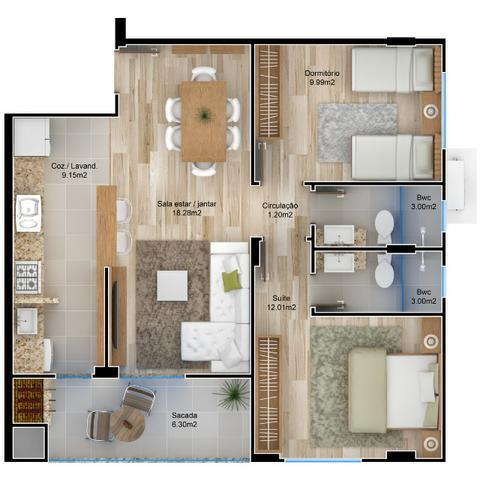 VA-Lindo apartamento em Camboriú! Confira!