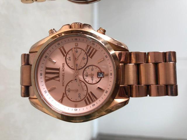 Relógio feminino Rose Gold Michael Kors MK5503 - Bijouterias ... 554e114e4f