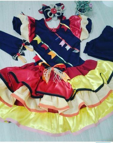 422707051dbab Vestido infantil de festa junina - Roupas e calçados - St H ...