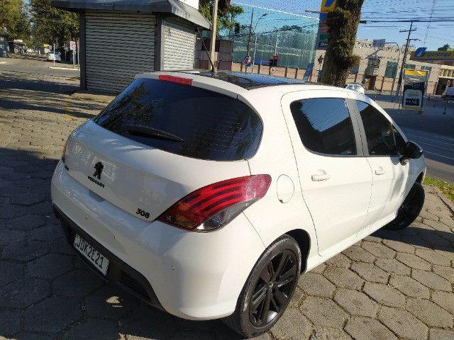 Peugeot 308 ano 2017 Thp Turbo Segundo Dono Remap e Filtro 64 mil km com Teto e Difusor - Foto 3