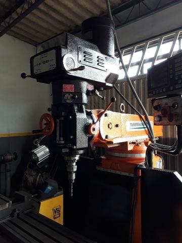 Vendo ou troco Torno Nardini ND250 e Fresa ferramenteira Timemaster 4KVME - Foto 5