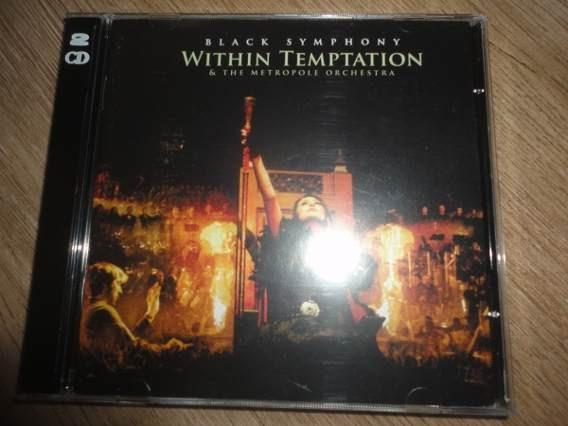 CD + DVD Within Temptation Black Symphony / Original Importado