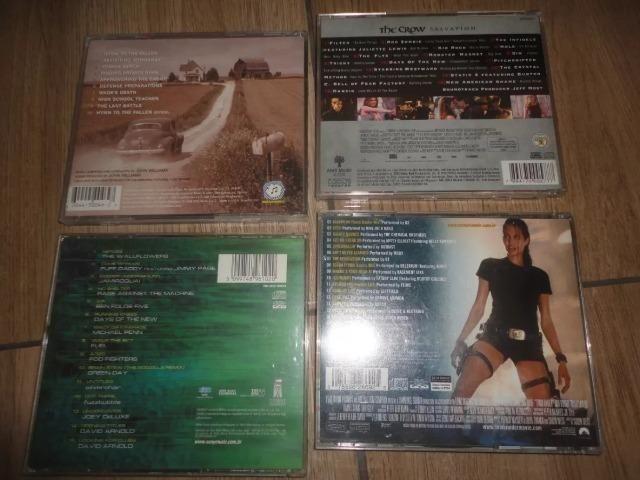 5 CDs Originais / Resgate Soldado Ryan / O Corvo / Tomb Raider / Godzilla - Foto 2