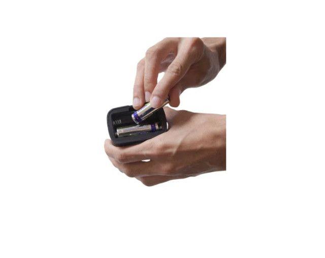 Mini lampião NTK com iluminação em 360°, compacto e em material resistente de 20 lúmens - Foto 3