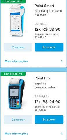Maquininha mercado pago point - Foto 2