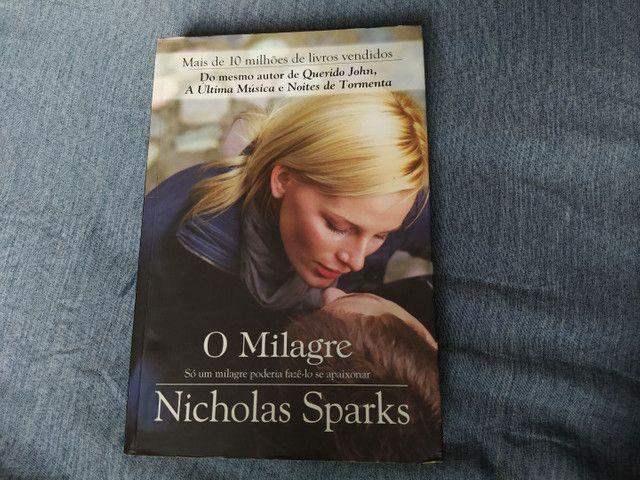 Livro O milagre - em ótimo estado