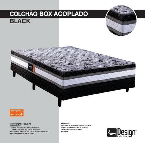 Colchao box black casal - Foto 2