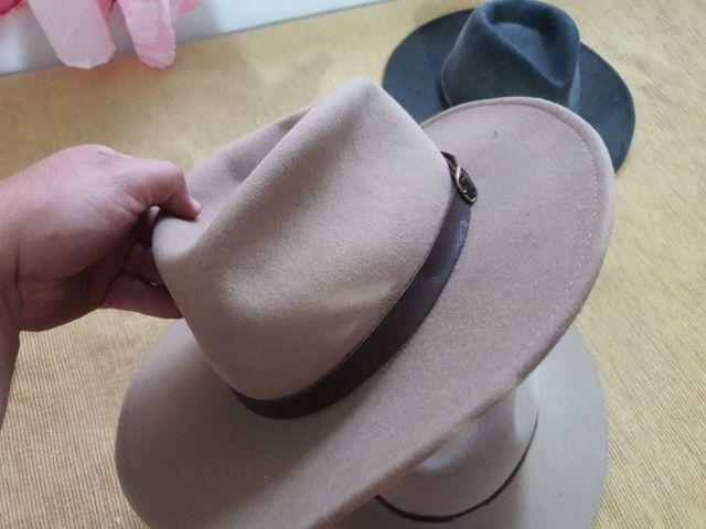 Torro 3 chapéus Prada originais R$ 150,00 - Foto 2