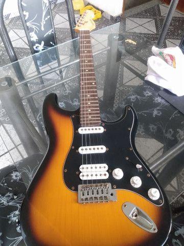 Guitarra Michael Strato - ACEITO CARTÃO - Foto 4