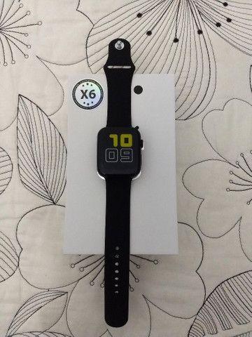 Smartwatch X6 (Faz e Recebe Chamadas) - Foto 2