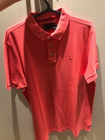 Camisa Reserva Rosa tamanho M