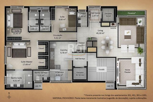 Apartamento à venda com 3 dormitórios em Jardim lindóia, Porto alegre cod:EL50873948 - Foto 6