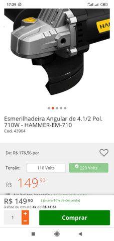 Vende ou trocar Jogo De Soquetes +Máscara Solda   Speedglas + lixadeira 4.1/2 - Foto 6