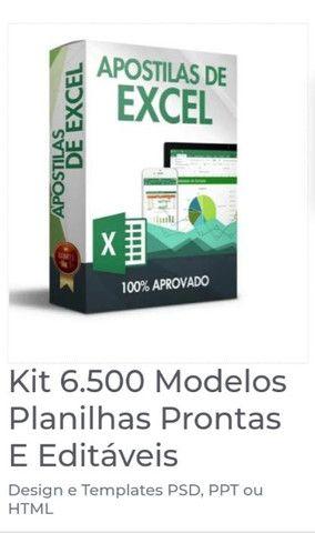 Mega pacote de planilhas Excel + de 6000 modelos