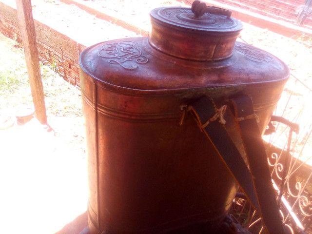 Bomba pulverizacao de cobre antiga - Foto 5
