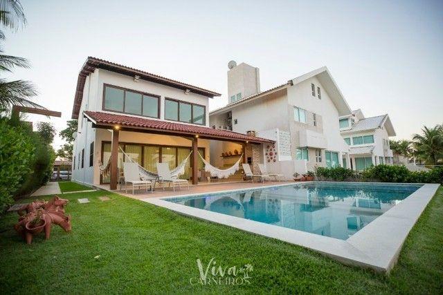 FA Casa beira mar na Praia dos Carneiros c/ 4 quartos